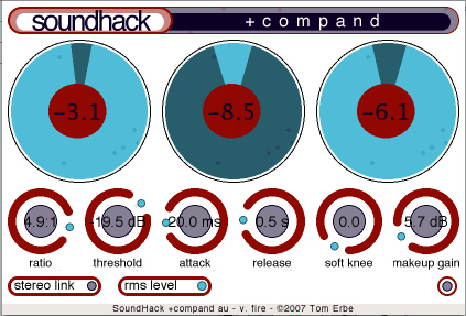 soundhack-compand