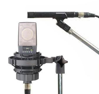 Typical MS recording microphone setup