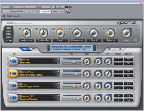 Digidesign - Xpand!