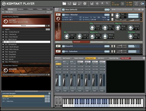 Native Instruments - Kontakt Player