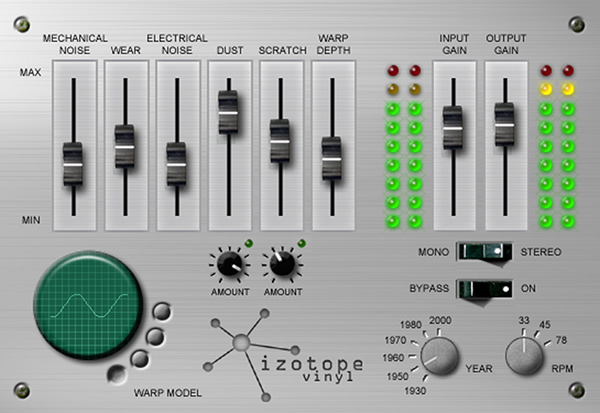 free audio plugins for protools Vynil - Izotope