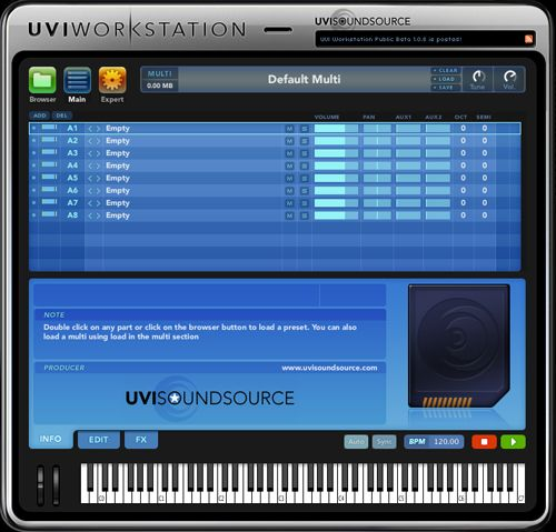 UVI - WorkStation